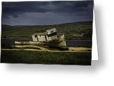 Weathered Fishing Boat Greeting Card