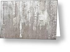 Weathered Metal Greeting Card