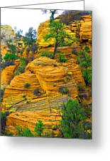 Weathered Rock Greeting Card