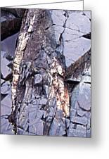 Weathered Rock Greeting Card