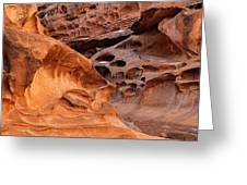 Weathered Sandstone Greeting Card