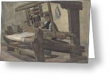 Weaver Nuenen, December 1883 - August 1884 Vincent Van Gogh 1853 - 1890 3 Greeting Card
