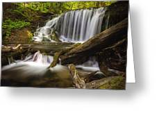 Weavers Creek Falls Greeting Card