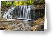 Weaver's Creek Falls Greeting Card