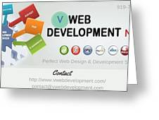 Website Development Company In Nyc Greeting Card