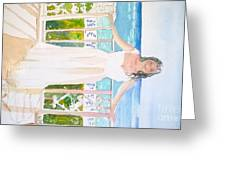 Wedding At The Ritz In Naples Greeting Card