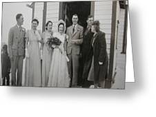 Wedding Bells Greeting Card