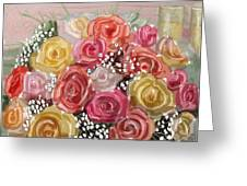 Wedding Bouquet Greeting Card