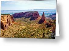 Wedding Canyon Greeting Card