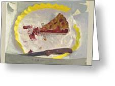Wedge Of Cake Greeting Card