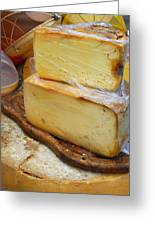 Wedges Of Ripe Cheese Wrapped Greeting Card
