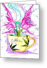 Weed Fairy Naptime Greeting Card