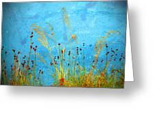 Weeds And Water Greeting Card