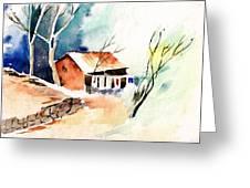 Weekend House Greeting Card