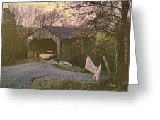 Weekend In New England Greeting Card