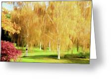 Weeping White Birch Greeting Card