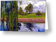Weeping Willow - Brush Colorado Greeting Card