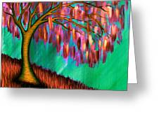 Weeping Willow IIi Greeting Card