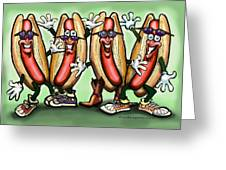 Weiner Party Greeting Card