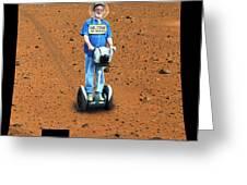 Welcom To Mars Greeting Card