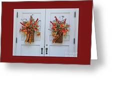 Welcome Doors Greeting Card