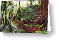 Welcome Paths Greeting Card