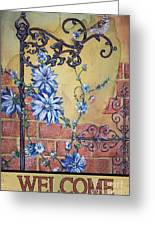 Welcome Sparrow-jp2781 Greeting Card