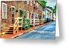 Welcome To Annapolis Greeting Card