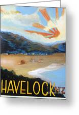 Welcome To Havelock New Zealand Greeting Card
