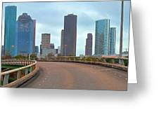 Welcome To Houston Greeting Card