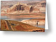 Welcome To Lake Powell Greeting Card