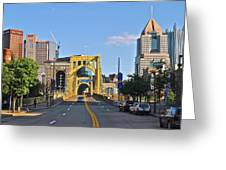 Welcome To Pittsburgh Pa Greeting Card
