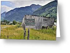 Welcome To Telluride Colorado Greeting Card