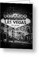 Welcome To Vegas Xiv Greeting Card