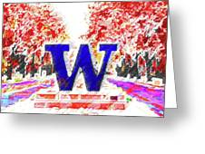 Welcome To Washington Greeting Card