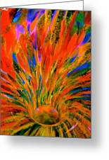 Well Of Colors Greeting Card