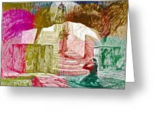 Well Of Souls Greeting Card