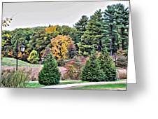 Wellesley College Campus Greeting Card