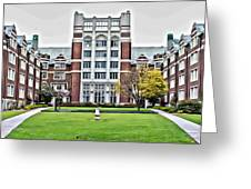 Wellesley College Tower Court Greeting Card