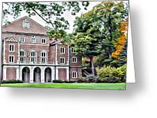 Wellesley College Walsh Alumni Hall Greeting Card