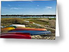 Wellfleet Harbor Cape Cod Greeting Card