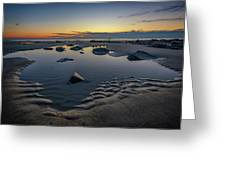 Wells Beach Solitude Greeting Card