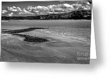 Welsh Coastal View From The Great Orme  Greeting Card