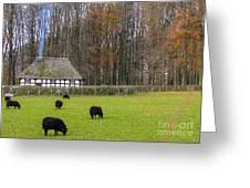 Welsh Farmhouse Greeting Card
