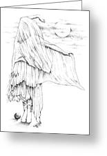 Welsh Witch Greeting Card