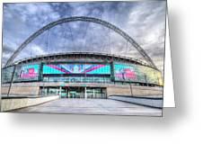 Wembley Stadium Wembley Way Greeting Card