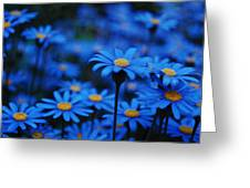 We're All Blue Greeting Card