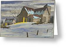 We're Home On The Farm Greeting Card