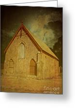 Wesley Church, Greenough, Western Australia Greeting Card
