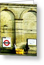 West Brompton Greeting Card